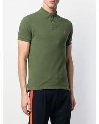 Polo Ralph Lauren Schmales Poloshirt in Green für Herren