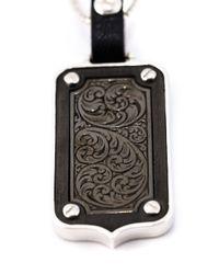 Stephen Webster Blue Dog Tag Pendant Necklace for men