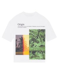 Fenty White Immigrant-print T-shirt