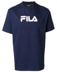 Fila - Blue Classic T-shirt for Men - Lyst