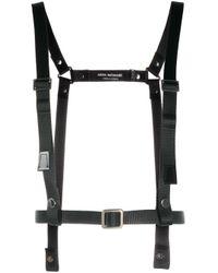 Junya Watanabe Black Nylon Strap Harness