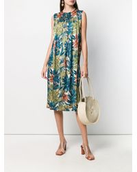 Ferragamo ベルテッド ドレス Multicolor