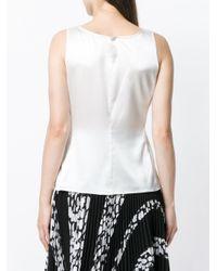 Emporio Armani White Camisole Top
