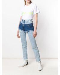 Natasha Zinko オーバーサイズ Tシャツ White