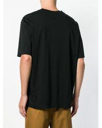 メンズ Jil Sander クラシック Tシャツ Black
