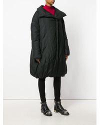 Masnada Black Padded Coat