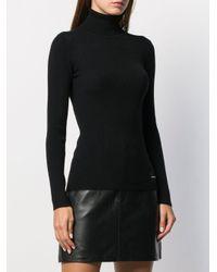 Calvin Klein スリムフィット プルオーバー Black