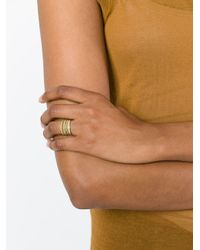 Wouters & Hendrix Metallic Set Of 4 Sculpted Rings