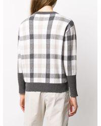 Brunello Cucinelli チェック セーター Multicolor