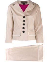Louis Vuitton 2000's スカートスーツ Natural