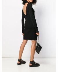 Helmut Lang オープンバック ドレス Black
