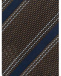 メンズ Lardini ストライプ ネクタイ Multicolor