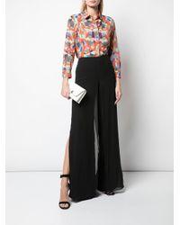 Pantalon ample Carmen Akris en coloris Black