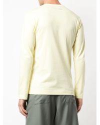 メンズ Comme des Garçons ロングtシャツ Multicolor