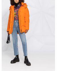 Woolrich フーデッド ダウンコート Orange