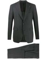 Tagliatore Gray Two-piece Formal Suit for men