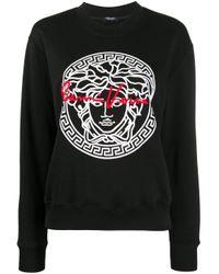 Versace メデューサ Gv スウェットシャツ Black