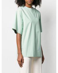 T-shirt con taschino di Kwaidan Editions in Multicolor