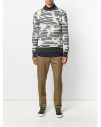 Marni Multicolor Tailored Trousers for men