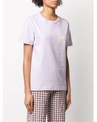 Soulland Edith Tシャツ Purple