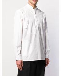 メンズ Dolce & Gabbana ストレートフィット シャツ White