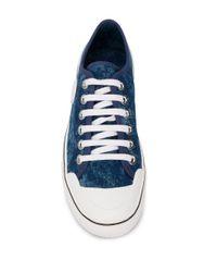 Baskets à lacets Stella McCartney en coloris Blue