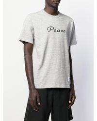 T-shirt di Supreme in Gray da Uomo
