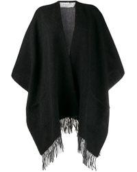Étole à franges Snobby Sheep en coloris Black
