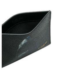 Givenchy Black Shark Bi-fold Cardholder for men