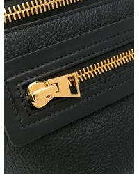 Tom Ford Black Textured Belt Bag for men