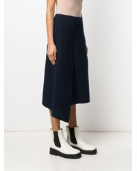 Sportmax 21060196000 15 Wool Or Fine Animal Hair->virgin Wool Blue