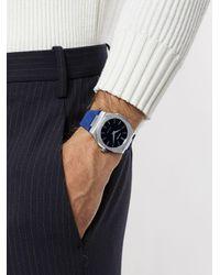 メンズ D1 Milano Ultrathin アナログ腕時計 Blue