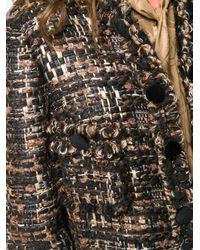 Dolce & Gabbana ツイード シングルコート Brown