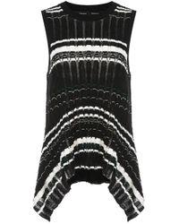 Top a righe di Proenza Schouler in Black
