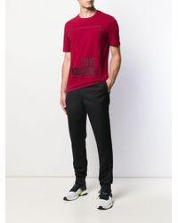 メンズ Love Moschino ロゴ Tシャツ Red