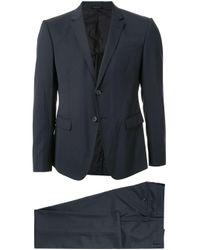 メンズ Giorgio Armani ツーピース スーツ Blue