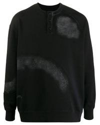 メンズ A_COLD_WALL* ボタン スウェットシャツ Black