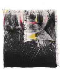 Faliero Sarti Clear パターン スカーフ Multicolor