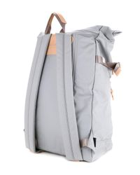 As2ov - Gray Contrast Large Backpack for Men - Lyst