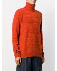 Missoni Kaschmirpullover mit Rollkragen in Orange für Herren