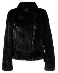 Numerootto Black Valerie Biker Jacket