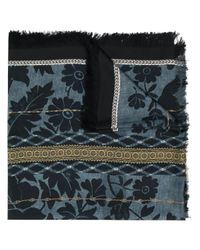 Foulard à motifs multiples Pierre Louis Mascia pour homme en coloris Blue