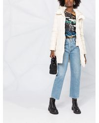Woolrich パデッド ロングジャケット Multicolor