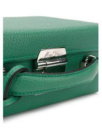Mark Cross - Green Mini Briefcase Bag - Lyst