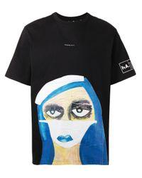 メンズ Haculla グラフィック Tシャツ Black