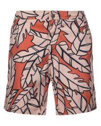 """Onia Red Calder 7.5"""" Swim Shorts for men"""