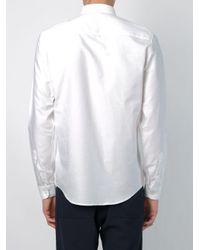メンズ AMI ボタンダウン シャツ White
