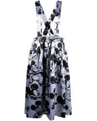 Comme des Garçons Mickey Mouse スカート Metallic