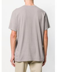 James Perse - Brown Loose Fit T-shirt for Men - Lyst