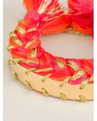 Aurelie Bidermann Orange 'copacabana' Bracelet